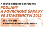 Přihlaste své příspěvky na konferenci Podlahy 2012