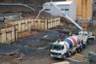CEMEX dodal speciální těžký beton na stavbu PET centra v Řeži