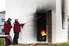 Odolnost dřevostavby s materiály FERMACELL vůči požáru