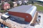 V Chodově dokončili stavbu nové sportovní haly