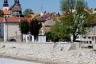Třebíč získala protipovodňové zdi a zábrany na stoletou vodu