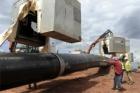 Stavba plynovodu Gazela má za sebou více než dvě třetiny prací