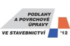 Pozvánka na konferenci Podlahy a povrchové úpravy ve stavebnictví 2012