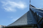 Kostel Neposkvrněného početí Panny Marie v Praze-Strašnicích má nově hliníkovou střešní krytinu