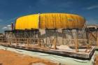 Bednění Doka pro betonové kopule centra Techmania
