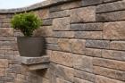 Systém betonových bloků CSB-NATRUBLOK