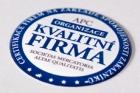 Certifikát Kvalitní firma získaly další společnosti