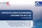 Chystá se setkání lídrů slovenského stavebnictví