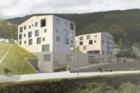 Výstava v NTK ukazuje návrhy na přestavbu nákupního střediska v Peci