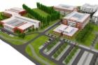 V Hradci Králové začala výstavba prvního objektu nového kampusu UK