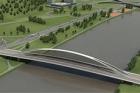 Dokončuje se oblouk na dvousetmetrovém Trojském mostě