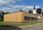 Levná, rychlá a úsporná dřevostavba zdravotního střediska v Mníšku u Liberce s materiály FERMACELL