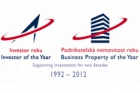 Soutěže Investor roku a Podnikatelské nemovitosti roku 2011 – výsledky