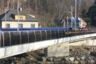 Nový most přes řeku ve Frýdlantě nad Ostravicí je v provozu