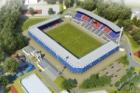 Švýcarský investor HRS chce dostavět plzeňský fotbalový stadion