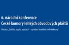 Pozvánka na konferenci České komory lehkých obvodových plášťů
