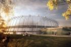 Vítězem soutěže na návrh sportovní haly v Č. Budějovicích je Ateliér 8000