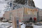 Moduly FAGUS s materiály FERMACELL slouží jako maloobchodní prodejna v Grónsku