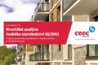 CEEC Research: Kvartální analýza českého stavebnictví 1Q/2013