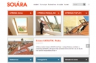 Solara má nové webové stránky