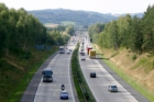 Práce na opravě D1 začnou 9. května umístěním dopravního značení