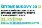 Konference Šetrné budovy 2013