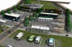 Hořovice mají opravené autobusové nádraží