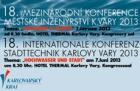Povodeň a město – téma 18. ročníku mezinárodní konference Městské inženýrství 2013