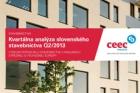CEEC Research: Kvartální analýza slovenského stavebnictví Q2/2013