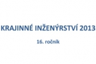 Konference Krajinné inženýrství 2013