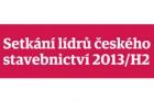 Setkání lídrů českého stavebnictví 2013/H2