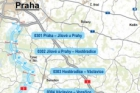Soud zrušil návrh trasy středočeského úseku D3 na jih Čech