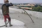 Spádování pomocí cementových pěn PORIMENT