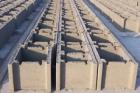 Stěny z tvarovek používaných pro ztracené bednění