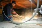 Vlastnosti a montáž foukané celulózové izolace CLIMATIZER PLUS