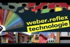 Technologie weber.reflex  dovoluje použít na zateplovací systémy i tmavší odstíny barev