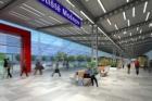 Začala stavba trati, která napojí letiště v Mošnově na železnici