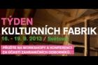 Týden kulturních fabrik v Plzni