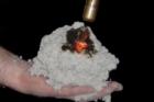 Požární odolnost tepelné izolace z celulózy