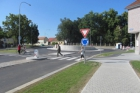 V Rokycanech skončila stavba důležité okružní křižovatky u Střelnice