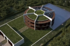 Architekt Luis de Garrido navrhne pro Messiho vilu ve tvaru fotbalového míče