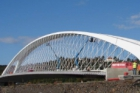 8. Betonářská exkurze: Výstavba nového Trojského mostu v Praze – dokončení