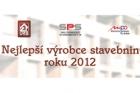 Soutěž Nejlepší výrobce stavebnin 2012 – výsledky