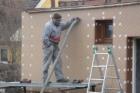 Zateplení fasády do pasivního standardu u objektů s požární výškou do 12 m