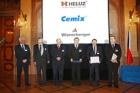 LB Cemix je jedním z vítězů soutěže Nejlepší výrobce stavebnin roku 2012