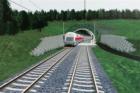 Za Plzní začala tříletá stavba trati do Rokycan za 4 miliardy Kč