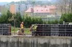 Beroun má dokončené protipovodňové hráze