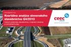 CEEC Research: Kvartální analýza slovenského stavebnictví Q4/2013