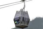 Nová kabinová lanovka na Sněžku svezla první cestující