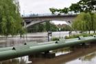 Kralupy nad Vltavou dokončují projekt protipovodňových opatření za 200 miliónů